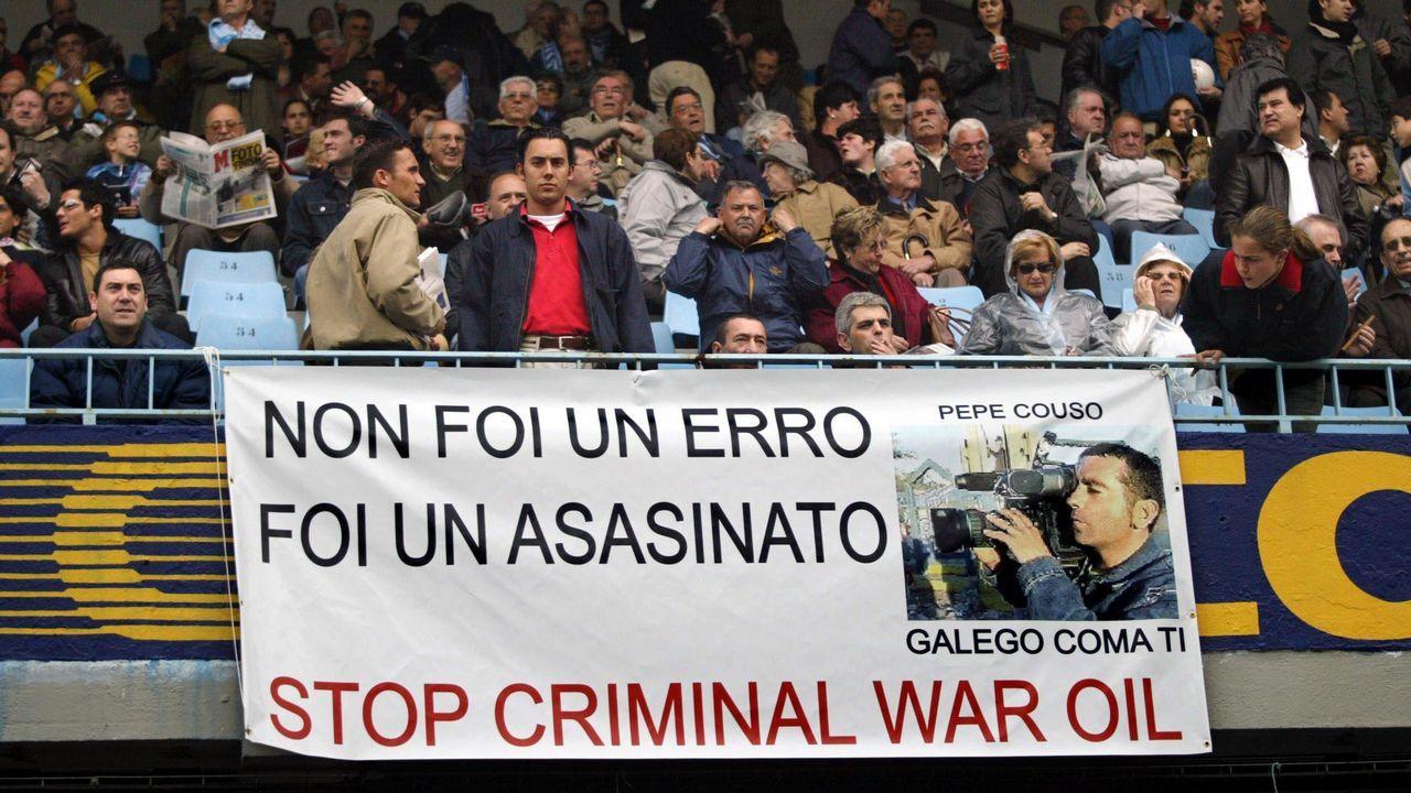 Condena al asesinato de José Couso el 15 de abril del 2004