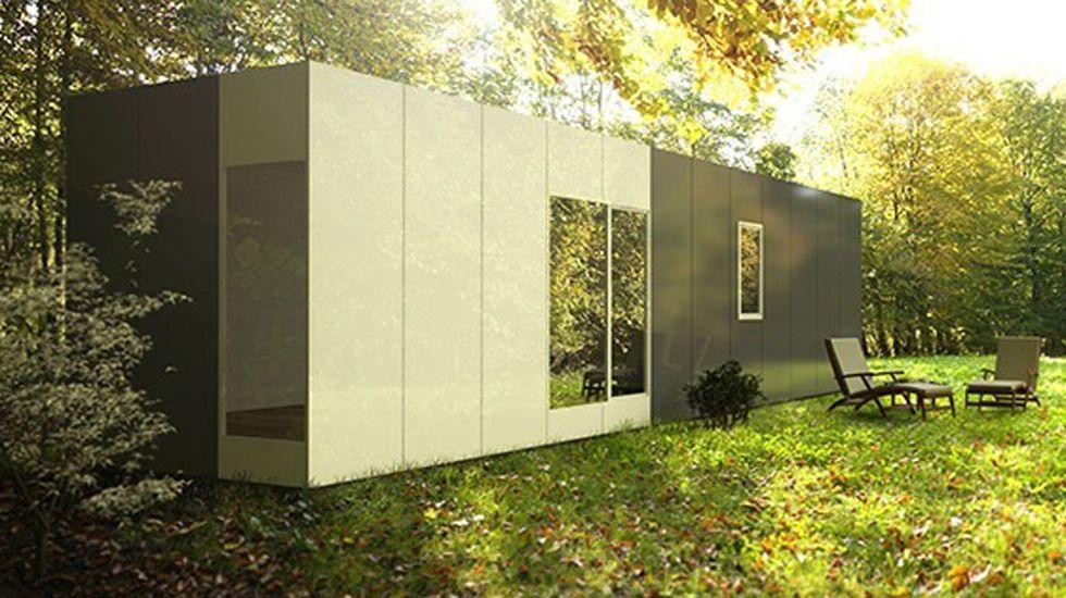 Minicasa de Casas Cube.