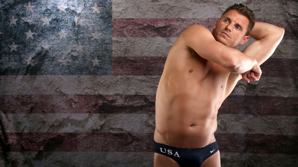 El nadador Troy Dumais