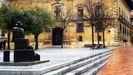 «El regreso de Williams B. Arrensberg», escultura de Eduardo Úrculo en  Oviedo