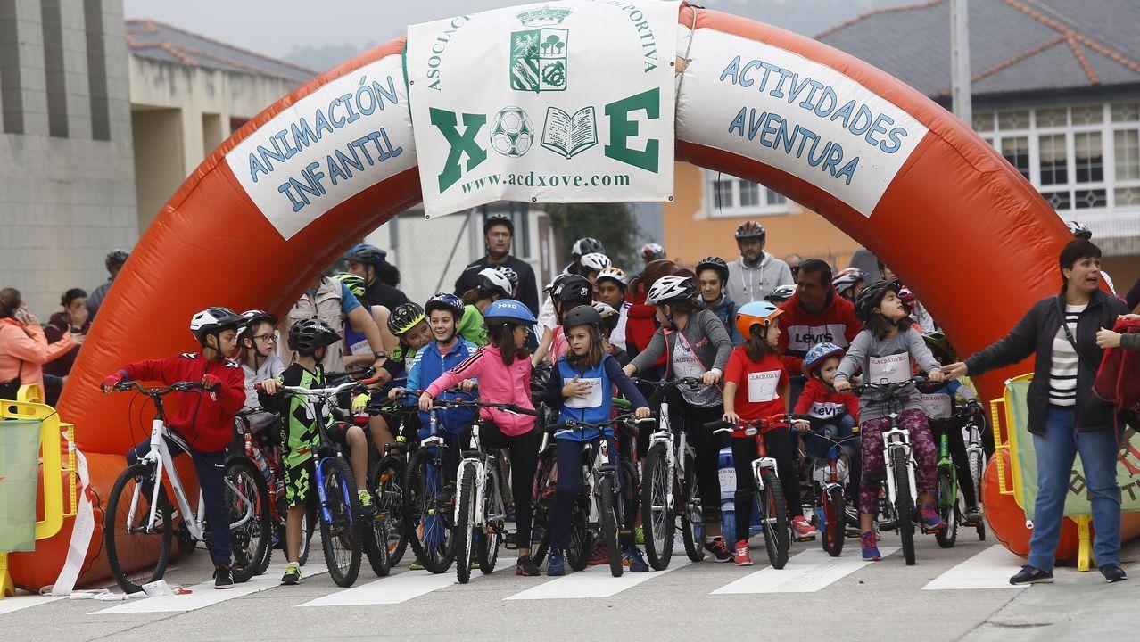 Xove celebra el Día de la Bicicleta