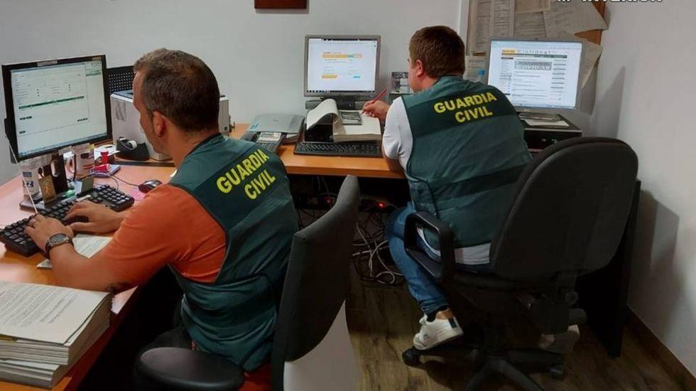 La Guardia Civil atribuye al sospechoso el uso de distintos perfiles para dejar sus comentarios en las redes sociales