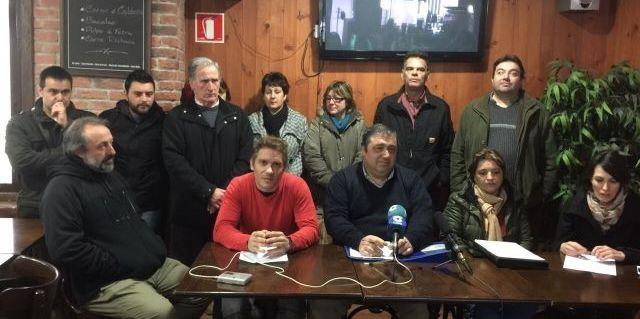 Los representantes de los colectivos dieron a conocer sus demandas.