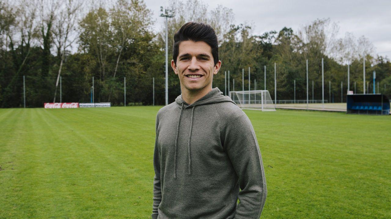 Gol Borja Sanchez Nieto Real Oviedo Girona Carlos Tartiere.Juanjo Nieto en El Requexón
