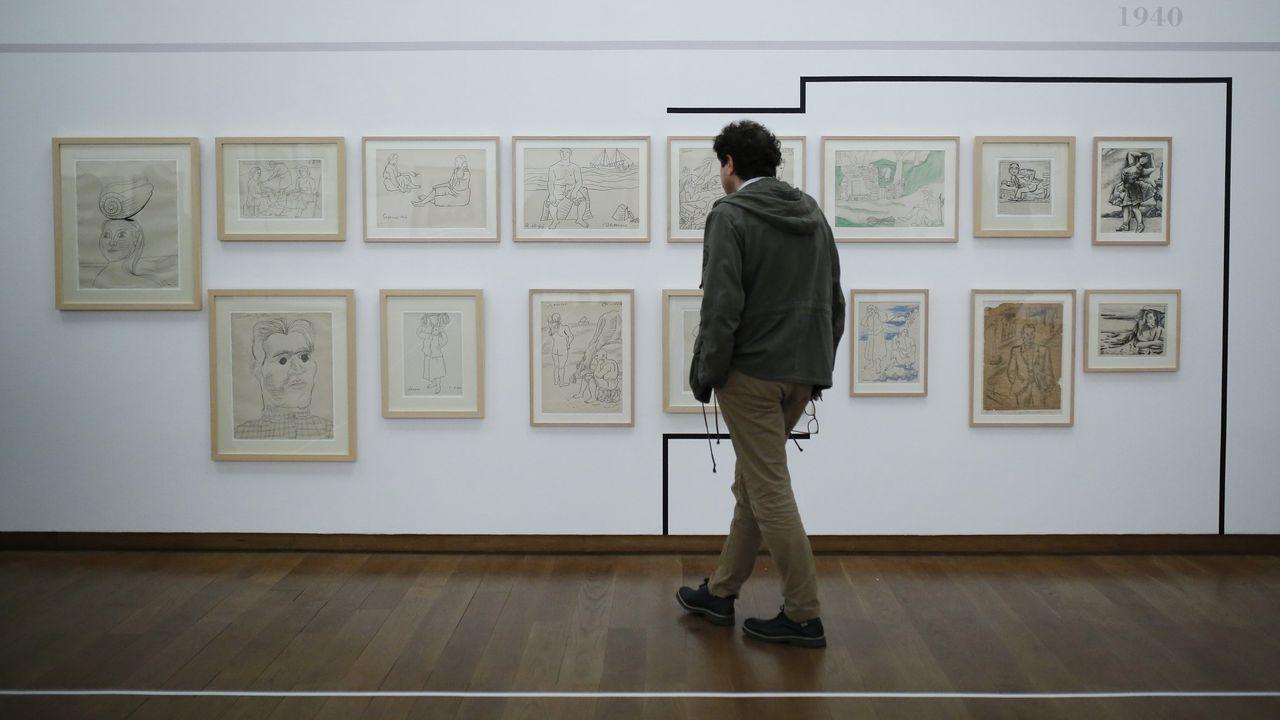 Presentación da Colección de Arte do Parlamento de Galicia