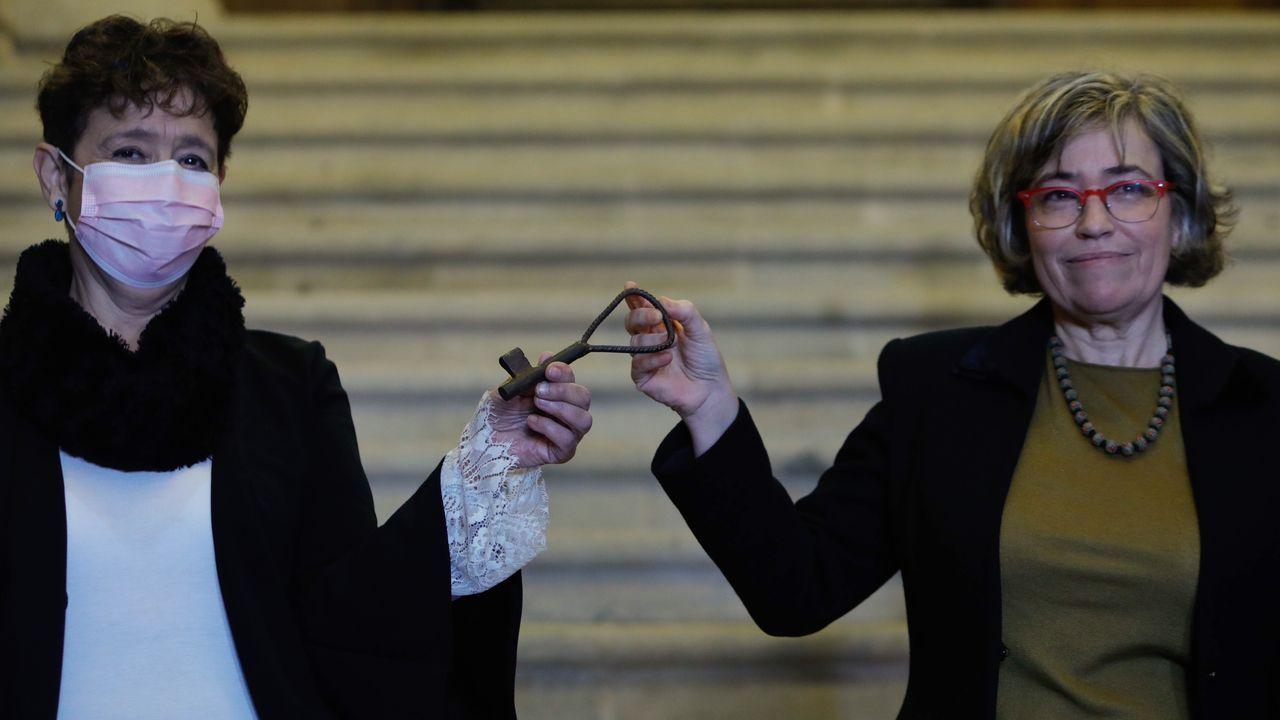 El Estado es ya el propietario del pazo de Meirás tras 82 años en posesión de la familia Franco.Los 19 de Meirás recordaron el día de 2017, cuando realizaron una simbólica ocupación en el pazo