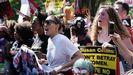 Cientos de personas se concentraron ante el Supremo para protestar contra Kavanaugh