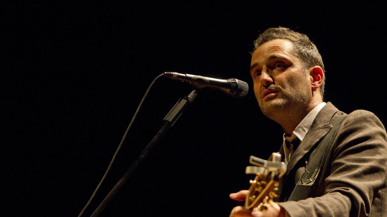 Detalle de uno de los conciertos en la terraza del auditorio Mar de Vigo