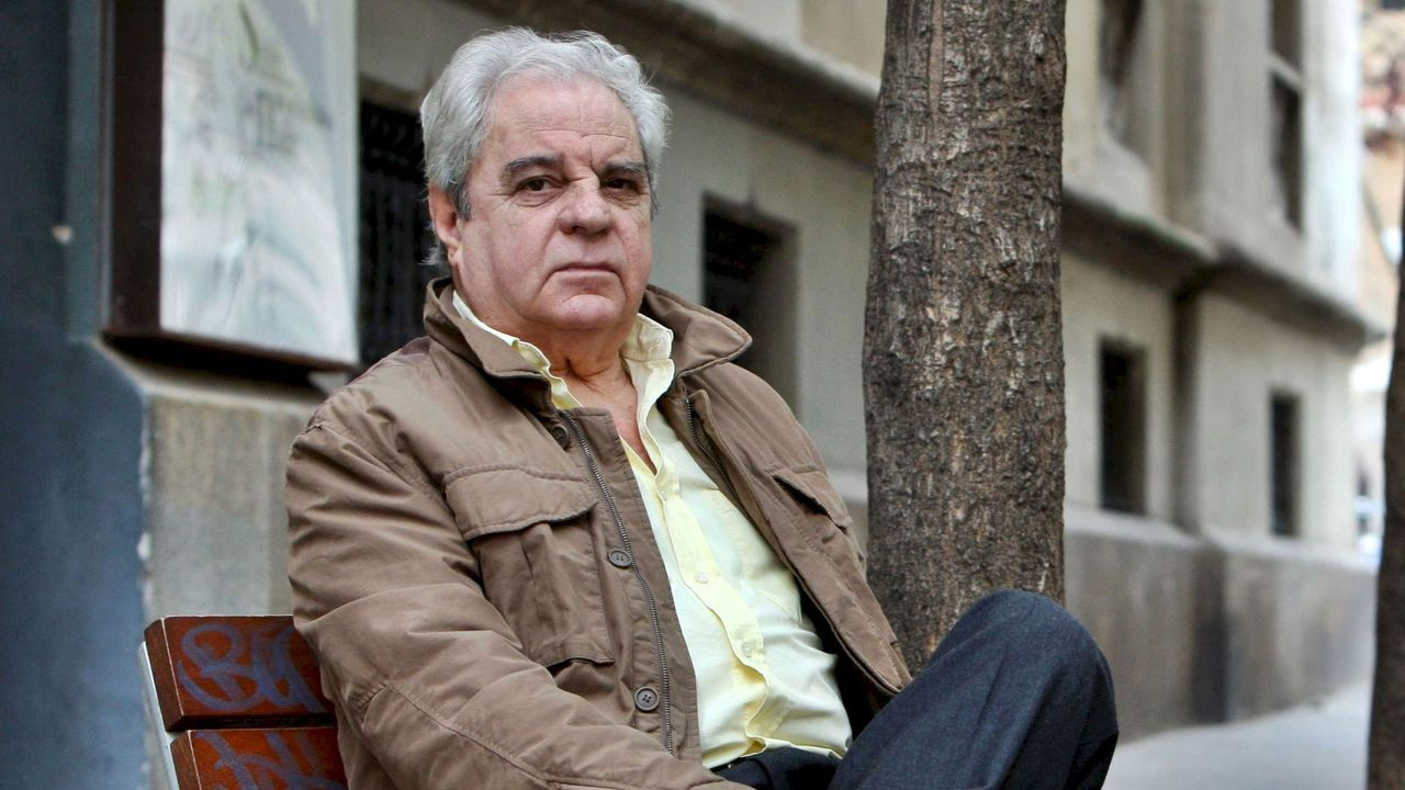 Juan Marsé en el año 2008, cuando fue galardonado con el Premio Cervantes