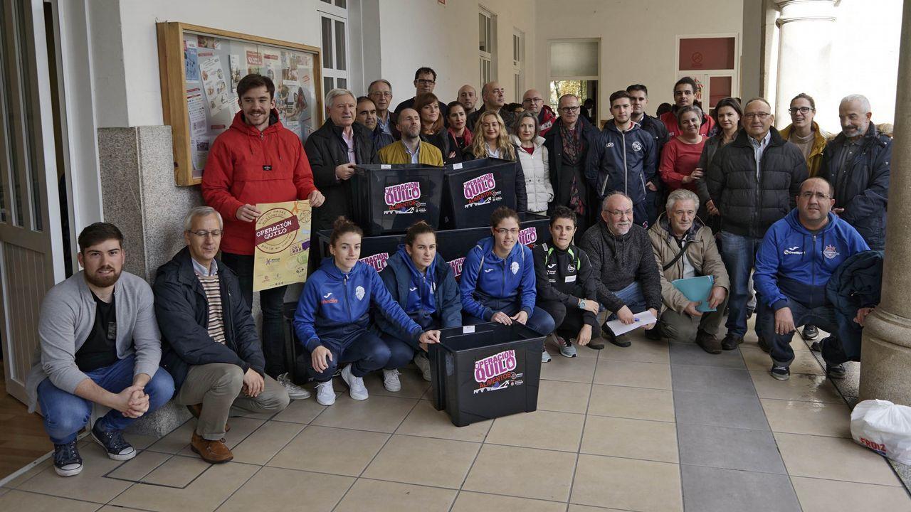 Navidad en Ourense.Operación Quilo en Amencer
