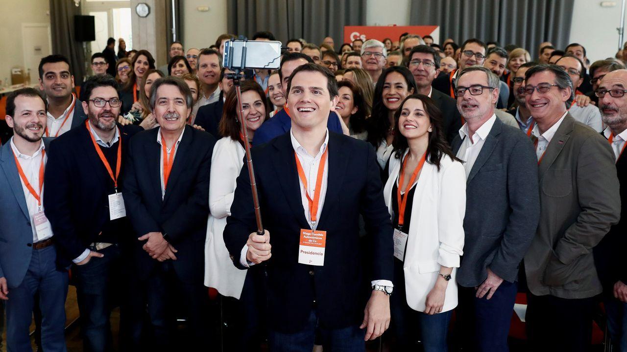 Manuel Valls, en un acto este abril en Barcelona