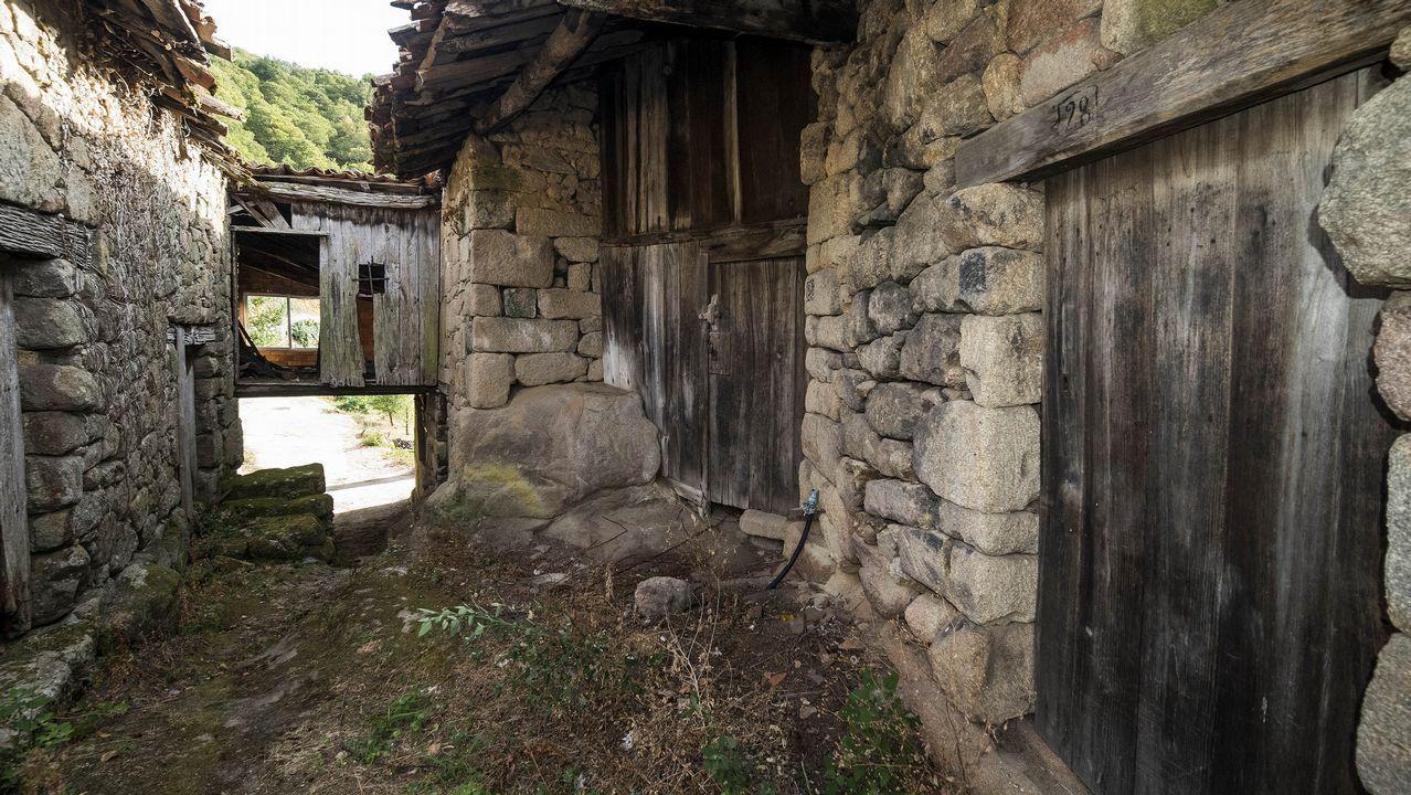 Construcciones tradicionales en Rabacallos