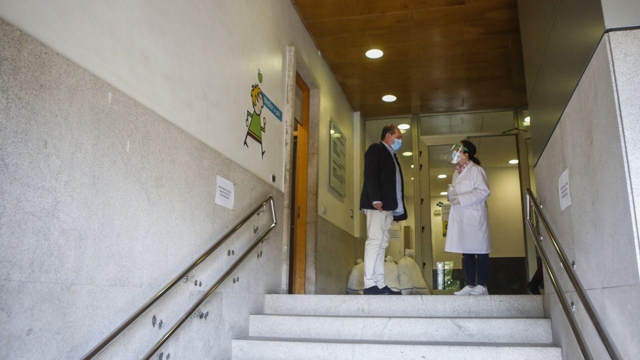 Imagen de archivo de un centro de salud ferrolano