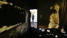 Estado en el quedó una de las aulas tras el atentado contra la Universidad de Kabul