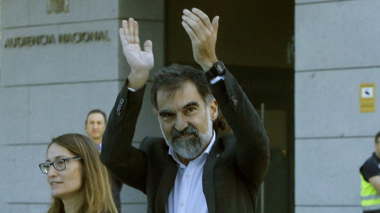 Jordi Cuixart. Presidente de Òmnium