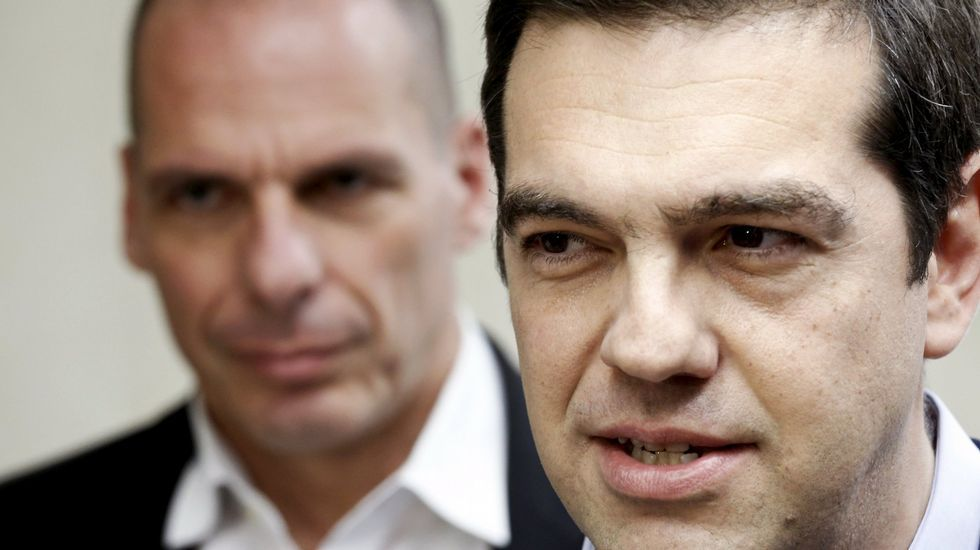 Tsipras, hoy en Atenas