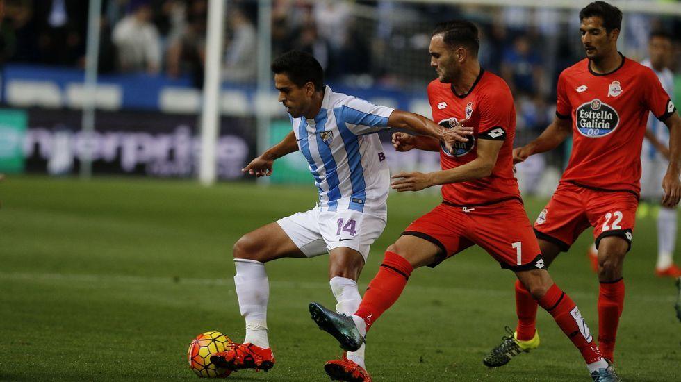 Kone Real Oviedo Alaves Carlos Tartiere.Kone, durante un partido con el Real Oviedo frente al Alaves