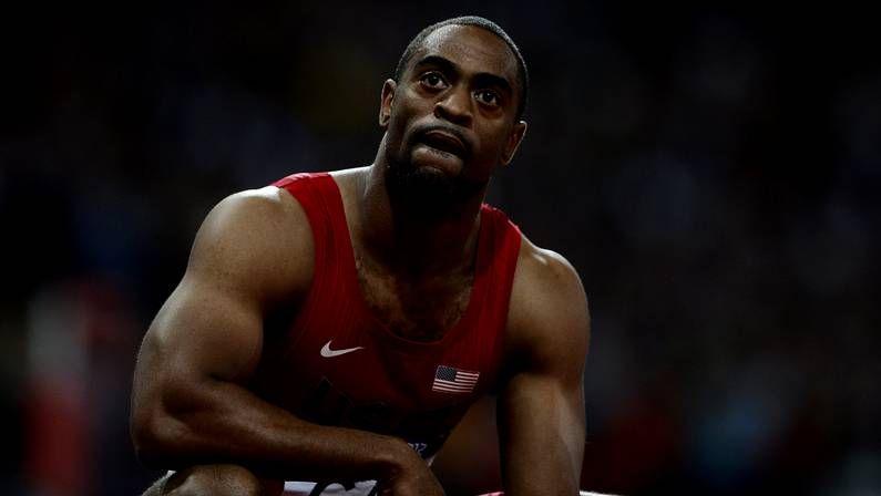 Tyson Gay, en los Juegos de Pekín