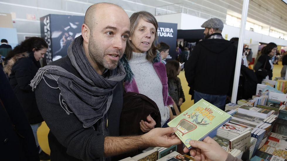A tecnoloxía tamén está presente no Culturgal, como comprobou o conselleiro Román Rodríguez