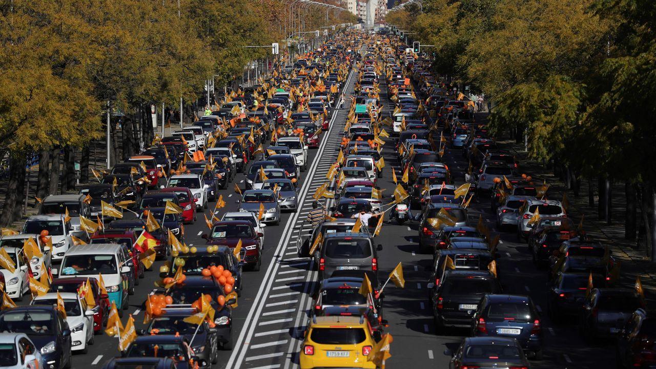 Protesta contra la Lomloe en Madrid