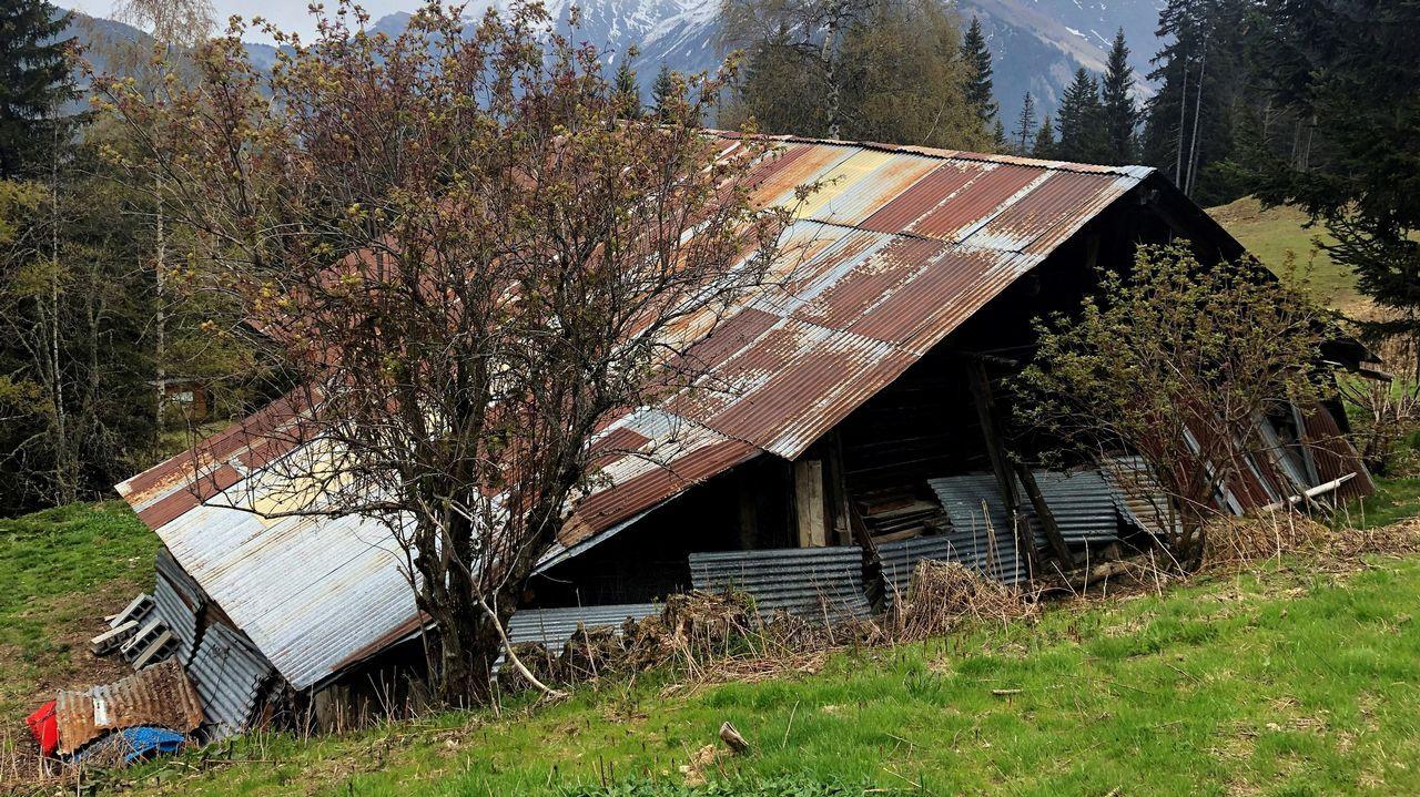 Refugio de Josu Ternera en los Alpes franceses