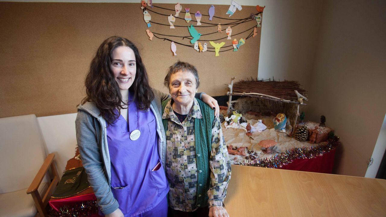 Las fiestas desde una residencia de mayores: una Navidad repleta de colores