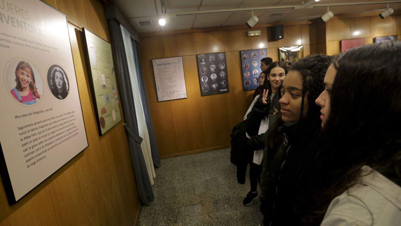 Queso cabrales.A investigadora Margarita Salas nun dos laboratorios do Centro de Biología Molecular (CBM) Severo Ochoa, da UAM