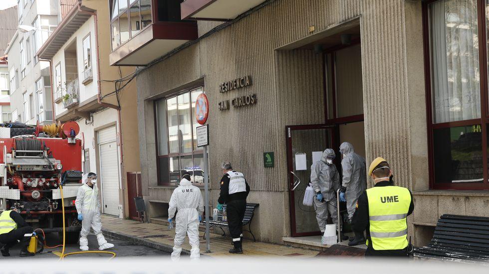 Accidente san Cibrao das Viñas.La residencia San Carlos de Celanova fue el primer centro para mayores con un contagio masivo entre los usuarios y el personal