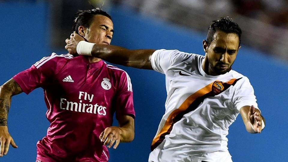 Benatia, contra el Madrid