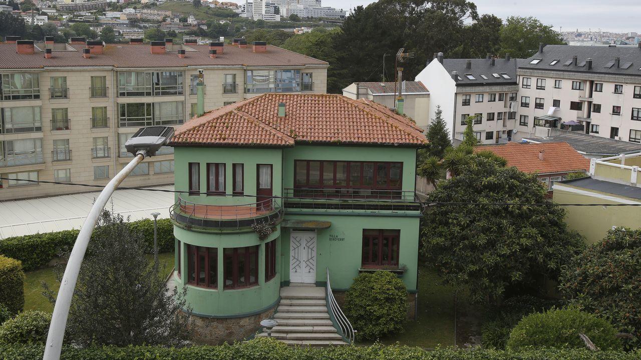 Solo terrazas. La hostelería de Oleiros vuelve a sufrir el impacto del covid