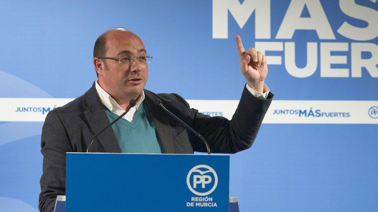 El expresidente de Murcia, Pedro Antonio Sánchez, en una imagen del 2017
