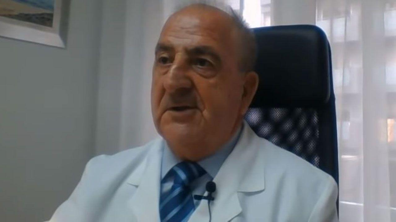 Luis Ricardo Rodrigo Sáez, en una entrevista