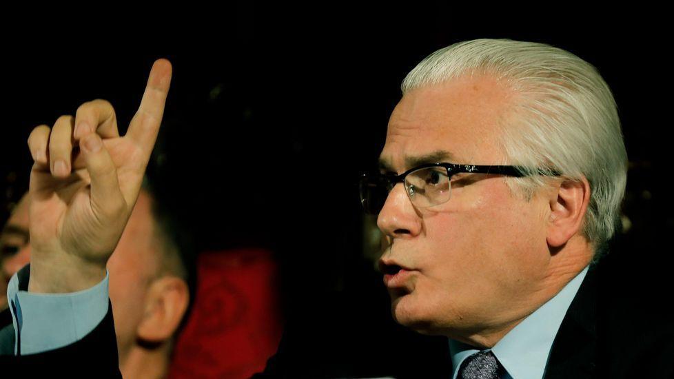 El exjuez Baltasar Garzon durante conferencia