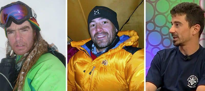Preocupación por los tres montañeros perdidos