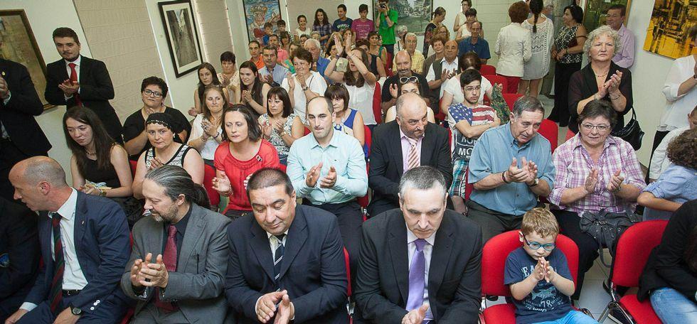 Álbum: Día de San Ramón en las fiestas de Vilalba.Los actos, celebrados en la Casa da Cultura, contaron con una numerosa asistencia de público.