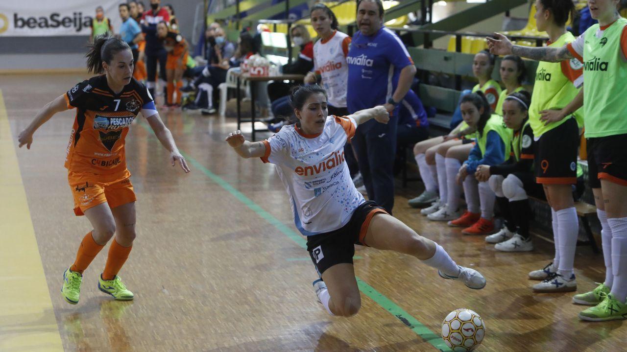 María Arias, jugadora del Envialia Ourense
