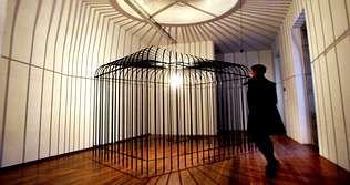 La exposición «Entrar na obra», de Amaya González-Reyes, es la última que se inauguró en el museo el pasado 16 de diciembre.