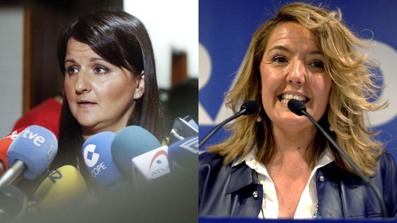 Laura Pérez Macho y Teresa Mallada