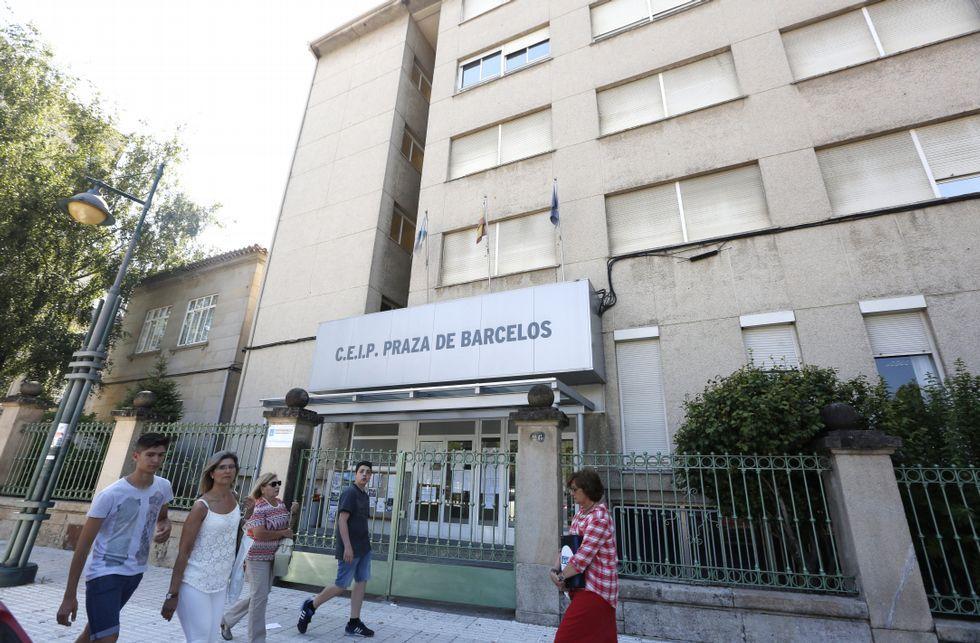 Galiciencia sopló las velas por su décimo aniversario.El CEIP Praza de Barcelos suele asumir los excedentes de casi todos los colegios del centro.