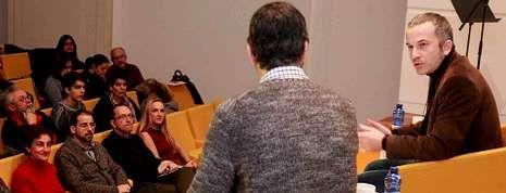 Clara Campoamor.Un momento del debate que se celebró en el Gaiás en el estreno de la segunda edición de Nexos.