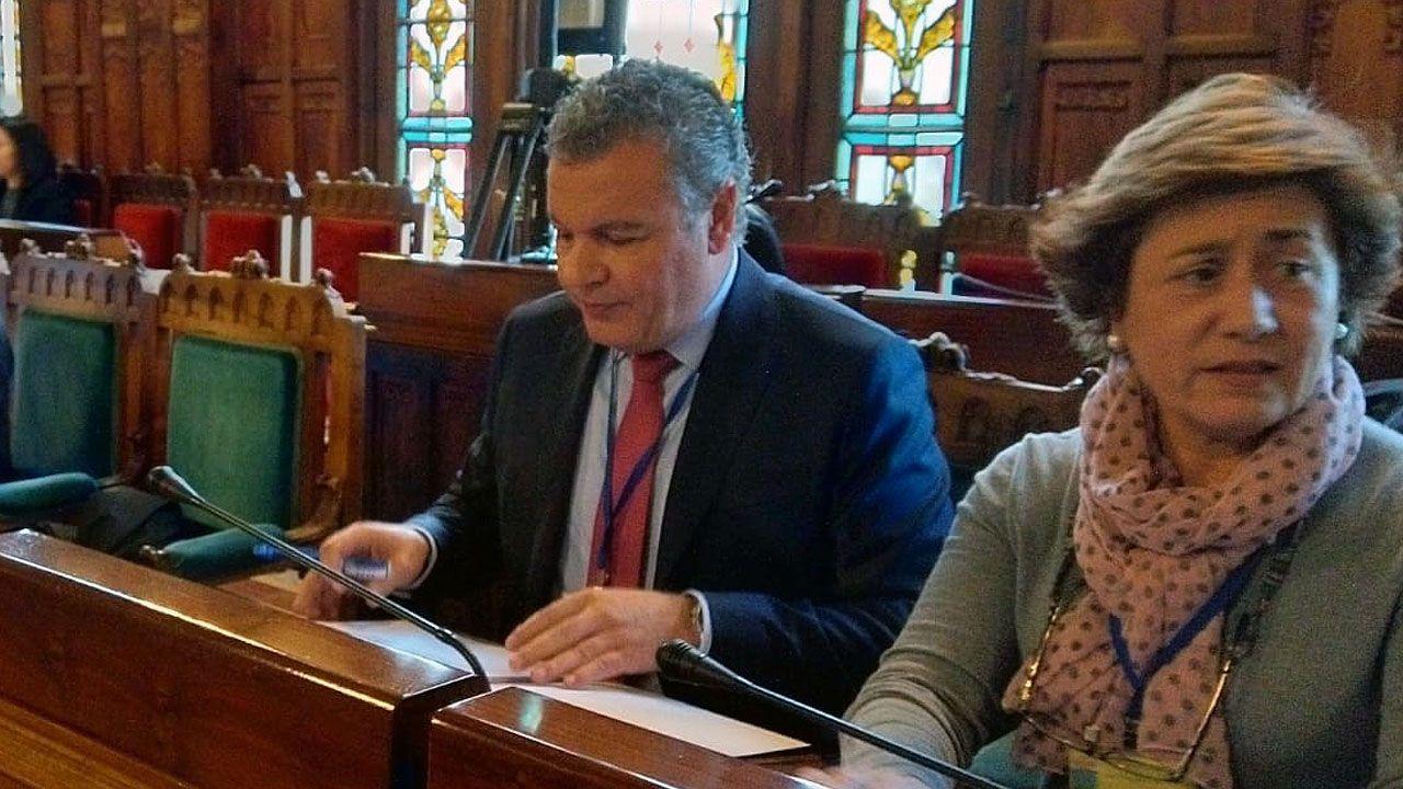 Belarmino Feito en la comisión de los presupuestos