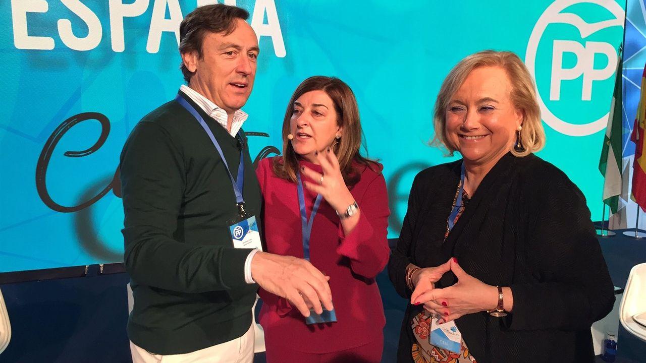 Mercedes Fernández en el congreso del PP