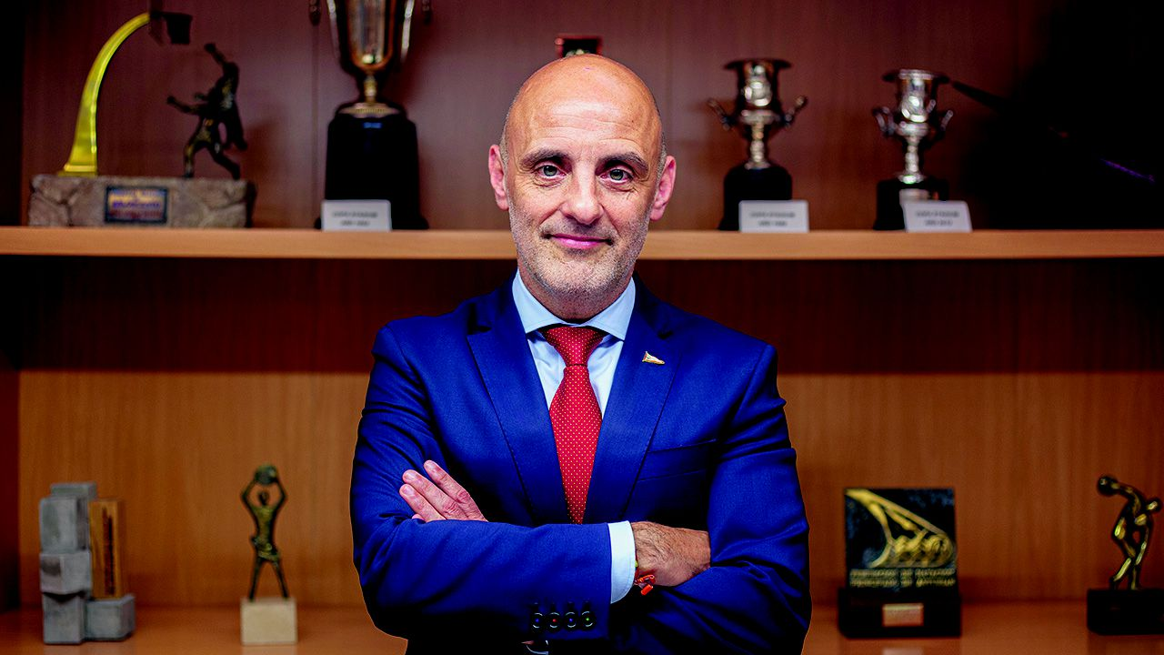 Antonio Corripio, presidente del Real Grupo de Cultura Covadonga