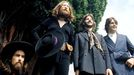 Harrison, Lennon, Starr y McCartney, en el londinense Tittenhurst Park, en agosto de 1969, poco antes de que los Beatles se disolviesen