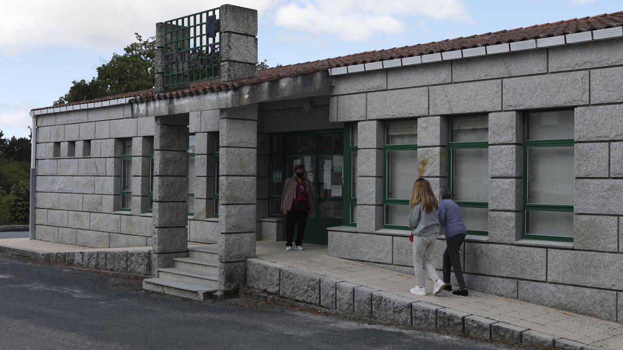 Centro de salud de Lobeira, en la provincia de Ourense