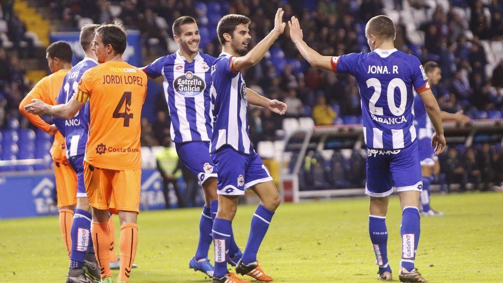 El Deportivo-Llagostera, en fotos