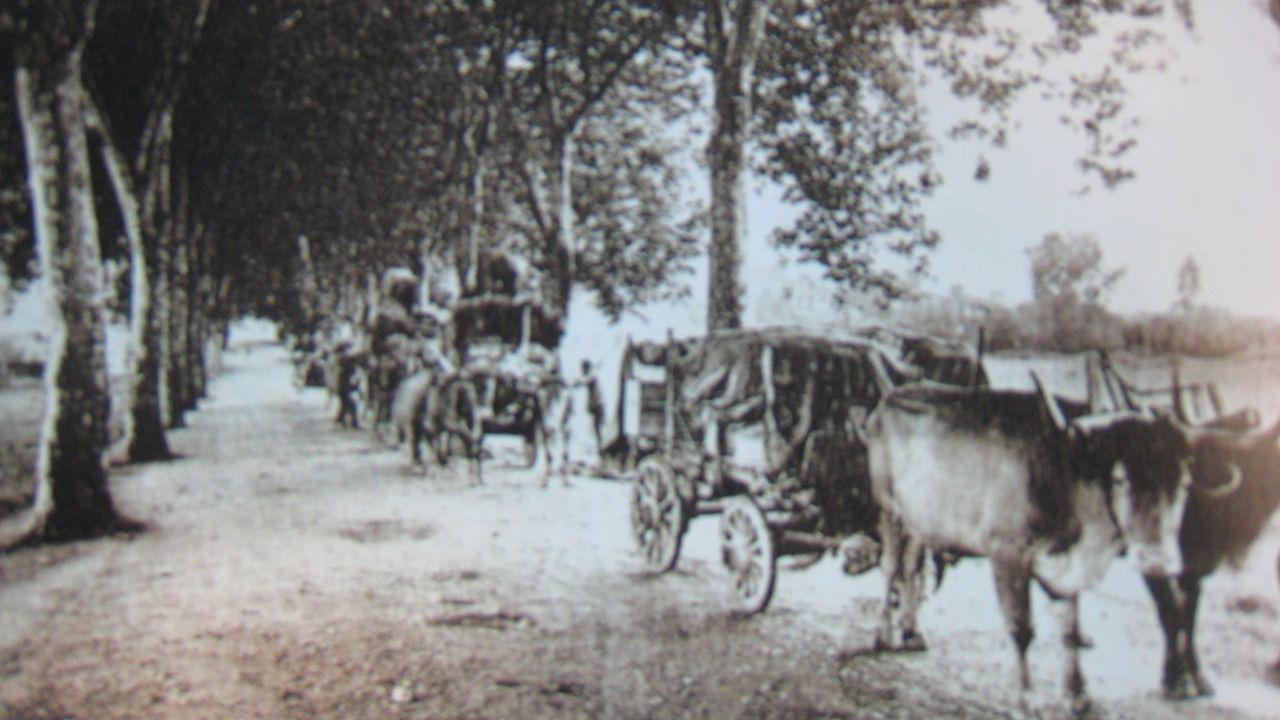 La calle Galeras, en los años 50
