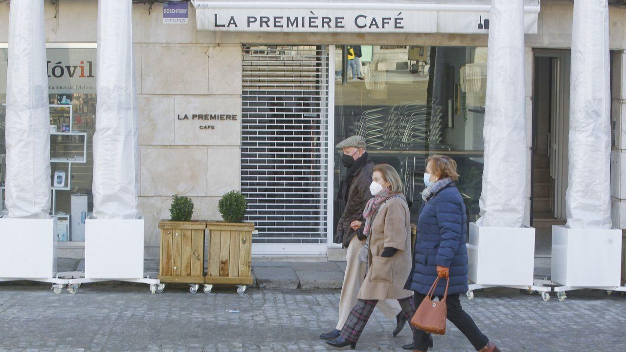 A pesar de contar con terraza, el café La Première ha decidido cerrar mientras no se relajen las restricciones