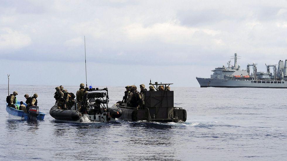 Operación contra los piratas en el Índico