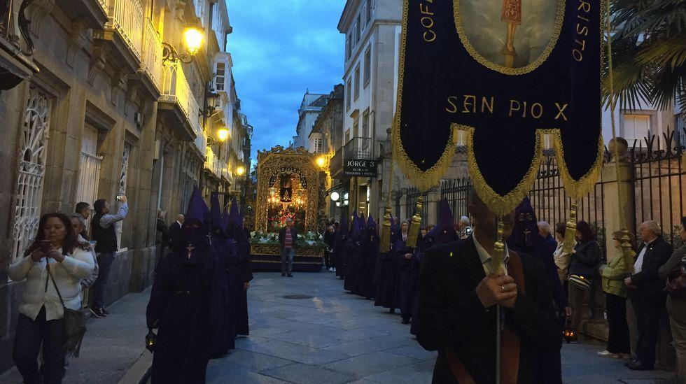 Ourense vive el viernes de Pasión